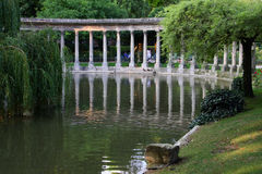 Parc Monceau in Paris Royalty Free Stock Photography