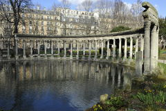Parc Monceau, Paris, France Stock Images