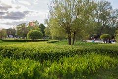 Parc Moscou de Gorki photos libres de droits