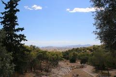 Parc nacional en Athenes Foto de archivo
