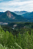 Parc national Alaska de Denali Images libres de droits