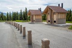 Parc national Alaska de Denali Photographie stock