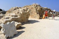 Parc national Apollonia, Israël Image stock