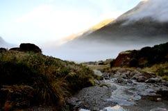 Parc national aspirant de bâti de vallée de la Sibérie Photos libres de droits