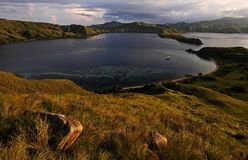 Parc national d'île de Komodo Photo libre de droits
