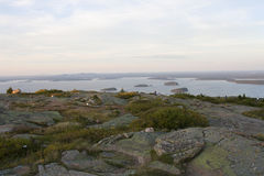 Parc national 75 d'Acadia images stock