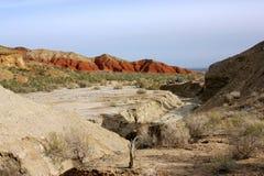 Parc national d'Altyn-Emel image libre de droits