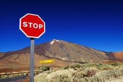Parc national d'EL Teide Photos libres de droits