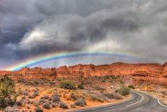 Parc national d'Utah-voûtes Photos libres de droits