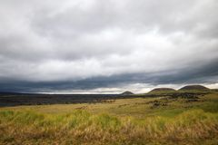 Parc national de  de HaleakalÄ - un beau et divers écosystème photos stock
