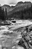 Parc national de Banff de rivière de Mistaya photo libre de droits