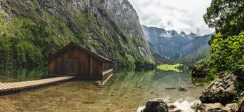 Parc national de Berchtesgaden dans les Alpes Images libres de droits