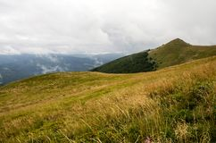 Parc national de Bieszczady en Pologne Photographie stock