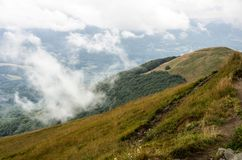 Parc national de Bieszczady en Pologne Photo libre de droits