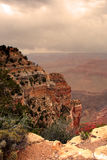 Parc national de canyon grand, Etats-Unis Photographie stock libre de droits