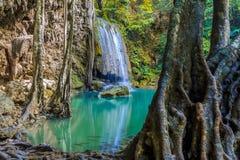 Parc national de cascade d'Earwan Photos stock
