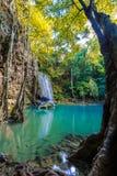 Parc national de cascade d'Earwan Images stock