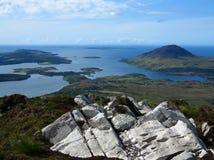 Parc national de Connemara Photographie stock libre de droits