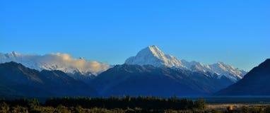 Parc national de crochet de Mt, Nouvelle-Zélande Photo stock