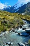 Parc national de crochet de Mt, Nouvelle-Zélande Photos libres de droits