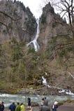 Parc national de Daisetsuzan de cascade de Ginga Images libres de droits