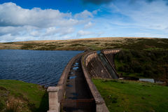 Parc national de dartmoor de barrage d'Avon Photos stock