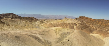 Parc national de Death Valley érodé d'arêtes image libre de droits