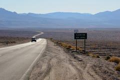 Parc national de Death Valley Images stock