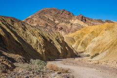 Parc national de Death Valley Images libres de droits