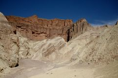 Parc national de Death Valley Photo stock