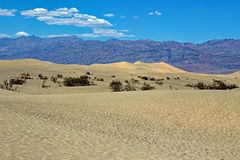Parc national de Death Valley - la Californie - les Etats-Unis Image stock