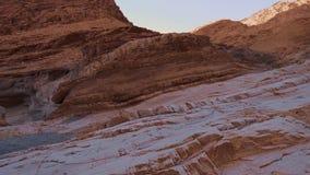 Parc national de Death Valley - le canyon de mosaïque clips vidéos