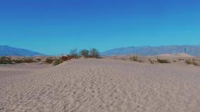 Parc national de Death Valley - les dunes de sable de mesquite clips vidéos