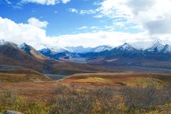 Parc national de Denali Photos stock