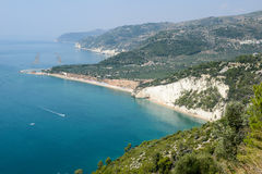 Parc national de Gargano en Puglia, Italie Photographie stock libre de droits