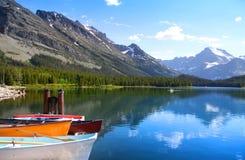 Parc national de glacier images stock