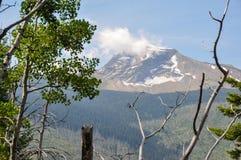 Parc national de glacier, Aller-à-le-soleil-route, Montana, Etats-Unis Photographie stock