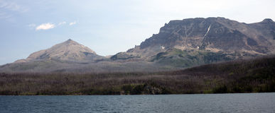 Parc national de glacier au Montana, Etats-Unis Photo stock