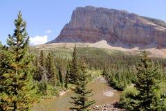 Parc national de glacier - Montana - les Etats-Unis Image libre de droits