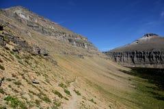 Parc national de glacier - Montana - les Etats-Unis Images libres de droits