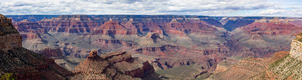 Parc national de Grand Canyon, panorama photographie stock libre de droits