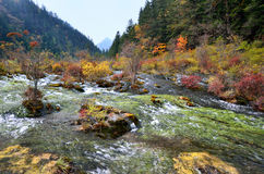 Parc national de Jiuzhaigou, Sichuan Chine Photo stock