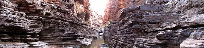 Parc national de Karijini, Australie occidentale Photographie stock