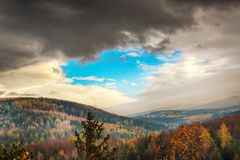 Parc national de Karkonoski, Szklarska Poreba, Pologne photo libre de droits
