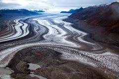 Parc national de Kluane et réservation, glaciers Photo libre de droits