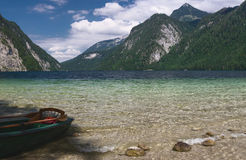 Parc national de Konigsee Image stock