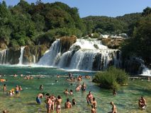Parc national de Krka, Croatie Photo stock
