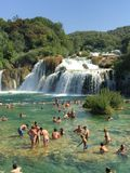 Parc national de Krka, Croatie Images stock