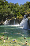 Parc national de Krka, Croatie, le 14 août 2017 Photos stock