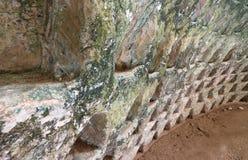 Parc national de l'AR Bet Guvrin de caverne Photographie stock